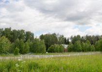 Панорама центральной части поселка Малое Сареево